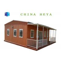 Best Durable Using Wall Panels Pre Built Container Homes PVC And Steel Windows wholesale