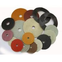 Best 4 Inch 5 Inch Diamond Flexible Polishing Pad With Resin Bond Multi Function wholesale