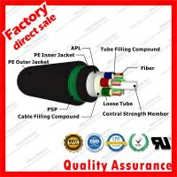 Best outdoor fiber optic cable gyta53 Direct Burial armored Double sheath underground cable Military Subway Broadband Access wholesale