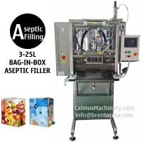 Best 3-25L Single-head BIB Aseptic Filler for Sterile Products Bag in Box Aseptic Filling Machine wholesale