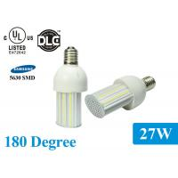 China Water Resistance 27W 180 Degree Corn Led Light Bulbs , CE ROHS Certificated on sale