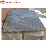 Best Black Veins China Juparana Grey Granite Garden Slabs Acid Resistance wholesale