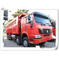 Best HOWO 12 wheels dump truck 8x4 30 tons loading tipper lorry / dumper truck with warranty 15000km wholesale