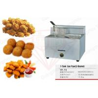 Best Commercial Gas Fryers For Restaurant With Stainless Steel Body wholesale