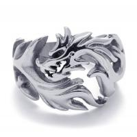 Best Tagor Jewelry Super Fashion 316L Stainless Steel Casting Rings Collection PXR016 wholesale
