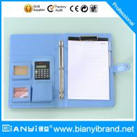 Best A4 portfolio with logo and pad wholesale