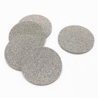 Best 5- Layer Sintered Mesh Sheet Filter Disc Stainless Steel For Fine Filtration wholesale