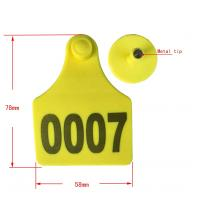 sell animal cattle ear tag,laser ear tag,cow ear tag,material SGS certificate,high78*width 58mm
