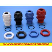 Best PG Type Threaded Cable Gland Plastic IP69K / IP68 with Locknut & O-ring wholesale
