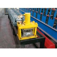 Best 5.5 M Length Roll Shutter Door Forming Machine With 8 - 15m / Min Working Speed wholesale