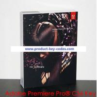 China Adobe Cs6 Product Key For Adobe Premiere Pro CS6 serial number / video editing software on sale