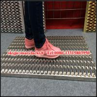 Best fish eye hole Perforated anti-skid plate/Crocodile perforated plate/non skid plate wholesale