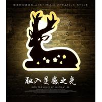 Best Deer Acrylic LED wall lights /indoor led wall lighitng for pube decoration wholesale