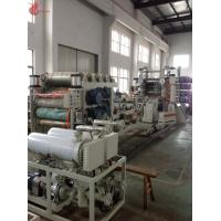 Buy cheap ABB motor CPU contorl Oil heating Six Roll PVC Calender Machine for Calender Production Line product