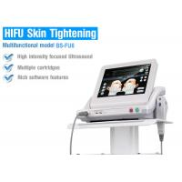 Multiple Cartridge Ultrasound HIFU Slimming Machine Painless Treatment
