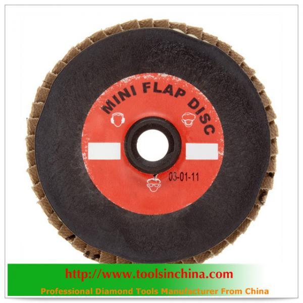 Cheap abrasive cloth polish flap disc for sale