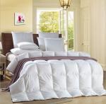 Best Alternative Satin Piping White 0.9D Light Blue Quilt Hotel Household Comforter wholesale