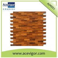Best Mosaic wood wall tiles for indoor decoration wholesale