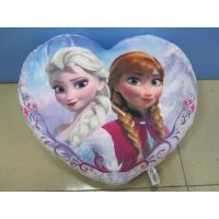 China Purple New and Fashion Disney Frozen Princess Cushion And Pillow For Bedding on sale