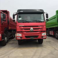 China ZZ3257N3647A Sinotruk Heavy Duty Dump Truck With ZF8118 Steering And HW76 Cabin on sale
