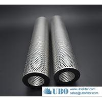 Best 50 Micron Stainless Steel Perforated Metal Tubes Filter wholesale