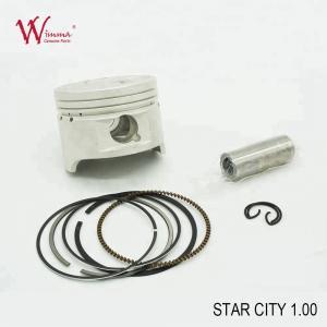 Best STAR CITY 1.00 Motorcycle Piston Kits With Aluminium Alloy Piston Ring Wholesaler wholesale