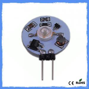 Best Aluminum PCB 1W High Power G4 Led Lamps Ceiling Lights AC10 - 30V 90LM wholesale