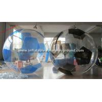 China TPU Soccer Inflatable Water Walking Ball , Water Walker With Durable Rope Cord on sale