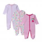 Best Customized Color Soft Infant Baby Clothes Comfortable Cotton Baby Garment grils wholesale