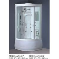 Best ABS shower stall 800mm Quadrant Shower Enclosures with tray and waste 230V Voltage wholesale