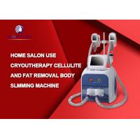Buy cheap Professional RF Cavitation Cryolipolysis Fat Freeze Slimming Machine English from wholesalers