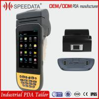 China 3g Wifi Handheld PDA Devices Data Collection Terminal With Rs232 Interface on sale