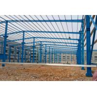Lightweight Steel Frame Building Prefab Factory Building Warehouse