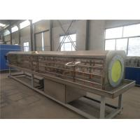 Best Water Pe Pipe Extrusion Line / Making Machinery , Bule Plastics Extrusion Machinery wholesale