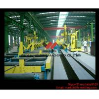 Buy cheap 45° Fillet Welding Flat Position Gantry Welding Machine With SAW Welder for H Beam Production product
