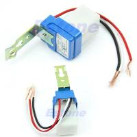 Buy cheap AC DC 220V 10A Auto On Off Photocell Street Light Photoswitch Sensor Switch product