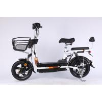 China 48V 12 Ah 14*2.5 Vacuum Tire Electric Folding Bike Lightweight With Pedals For Adults on sale