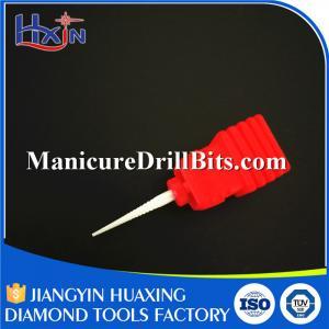 Fine Nail Drill Safety Bit , Nail Machine Bits HXTC-101 Wear Resistance