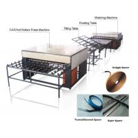 Best Double Insulating Glass Production Line / Machine with 5 Pairs Rollers wholesale
