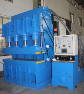 Best Upper Pressure Vulcanizing Press Machine Table 2000X500mm Automatic Pressure , Exhaust wholesale