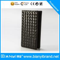 Best Bulk Wholesale Price Fashion Man Leather Wallet with Custom Logo wholesale