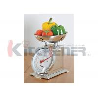 FDA Stainless Steel Digital Kitchen Scale With Round Tray 20 Kgs * 50 Gram