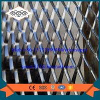 Best China facade aluminum expanded metal mesh with powder coating wholesale