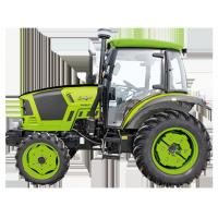 Best 4WD Green Compact Diesel Tractor , Small Farm Tractors 18 - 40hp Power wholesale