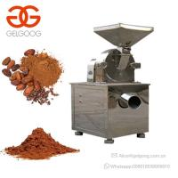 Best Electric Cocoa Powder Grinding Machine Cacao Powder Making Machine wholesale