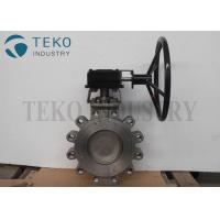 Best Fire Safe CF8 SS 4 Inch High Performance Butterfly Valves Hydraulic Actuation wholesale