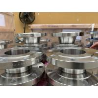 Cheap Duplex Material Steel Flanges A182 F60 F53 UNS S32750 150# - 15000# Class for sale