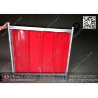 China 2.1X2.4m Temporary Corrugated Sheet Fencing | 2.0X2.5m Temporary Hoarding Fence on sale
