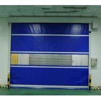 China Logistic Automatic Rolling Shutter Cold Storage Roll Up Doors Red Yellow Blue on sale