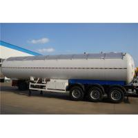 Best Tri-Axle 21 Ton LPG Gas Transport Trailer with Sunshade Insulation wholesale